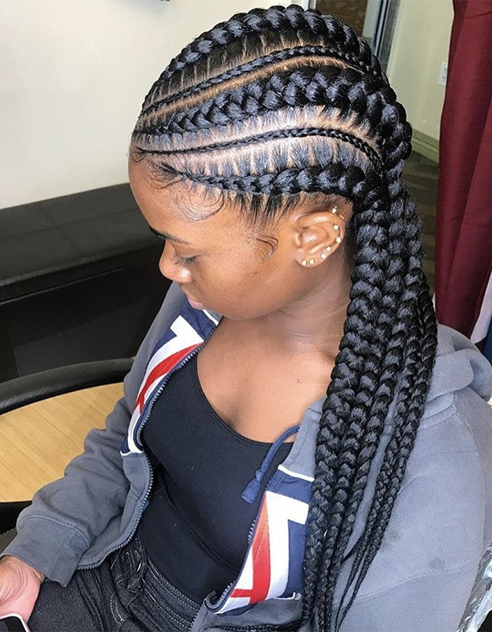 1582617314 614 22 Most Coolest and Fabulous Feed in Braids
