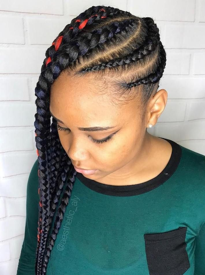 1582617315 87 22 Most Coolest and Fabulous Feed in Braids