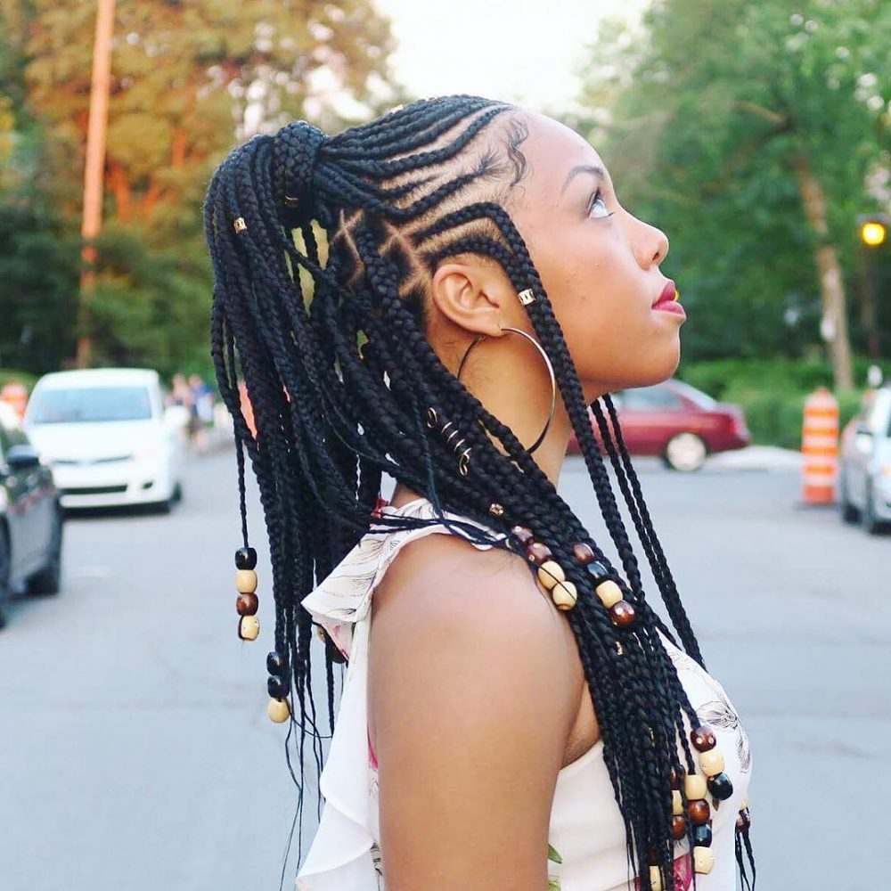 1582617316 993 22 Most Coolest and Fabulous Feed in Braids