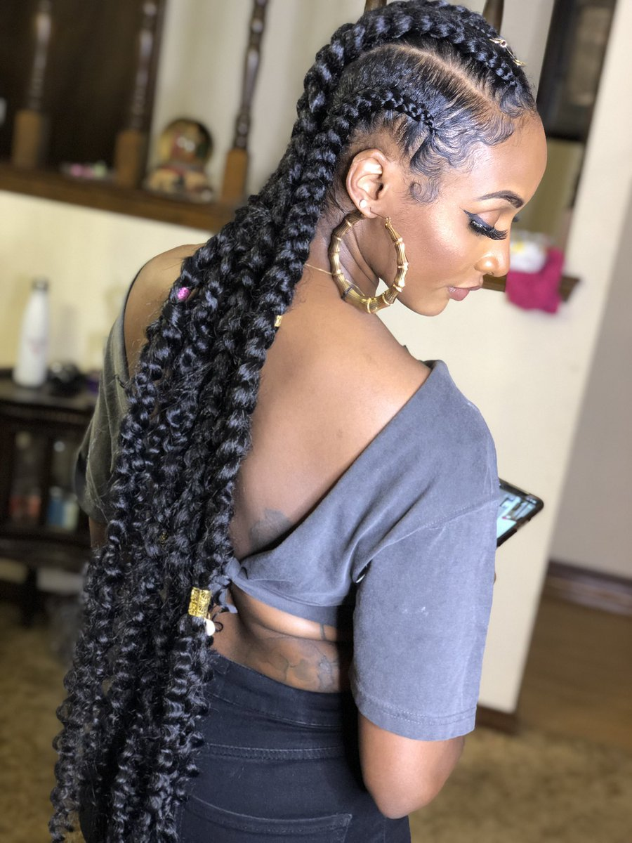 1582617316 998 22 Most Coolest and Fabulous Feed in Braids