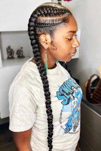 1582638263 729 35 Summer Braids Styles for Black Women