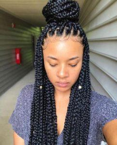 1582638265 627 35 Summer Braids Styles for Black Women