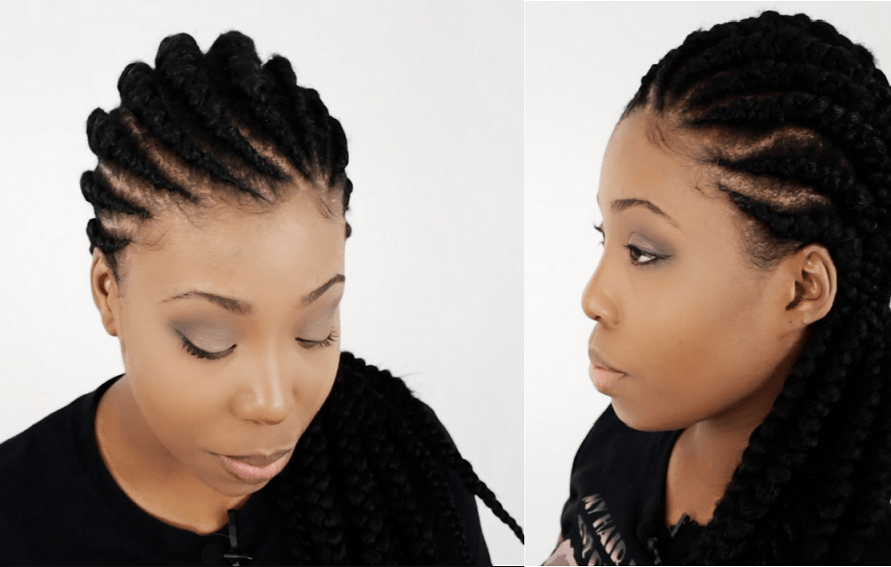 ghana braids for natural hair