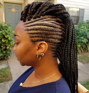 1582726103 241 35 Mohawk Braids Hairstyles