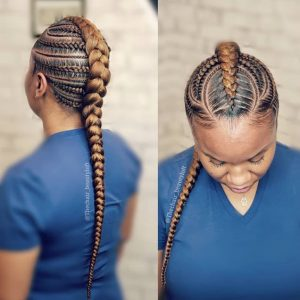 1582726103 45 35 Mohawk Braids Hairstyles
