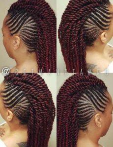 1582726104 98 35 Mohawk Braids Hairstyles