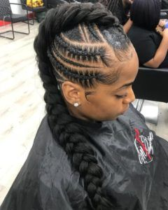 1582726107 926 35 Mohawk Braids Hairstyles