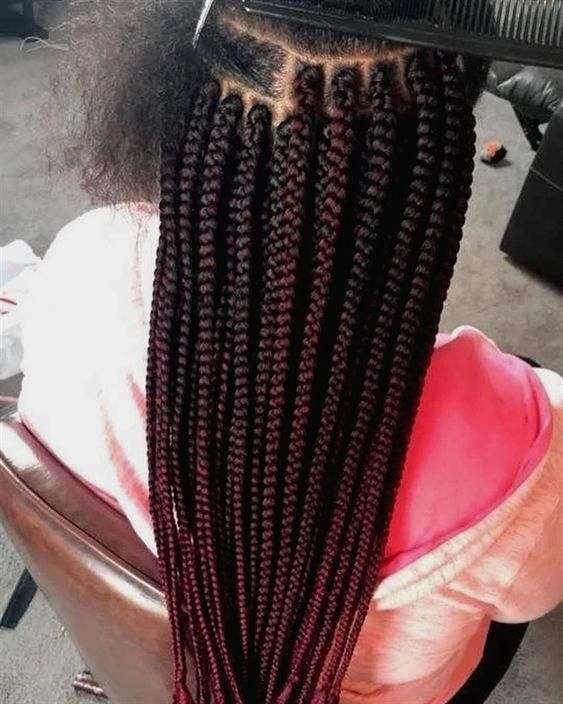 2019 American and African Hair Braiding Cornrows : The Beauty Of Natural Hair Board