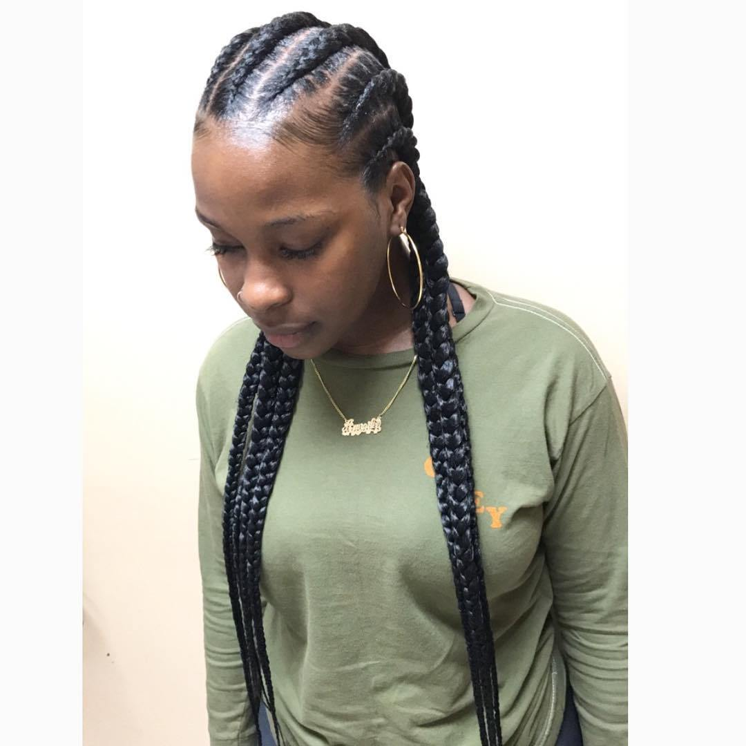 1582814998 202 40 Totally Gorgeous Ghana Braids Hairstyles