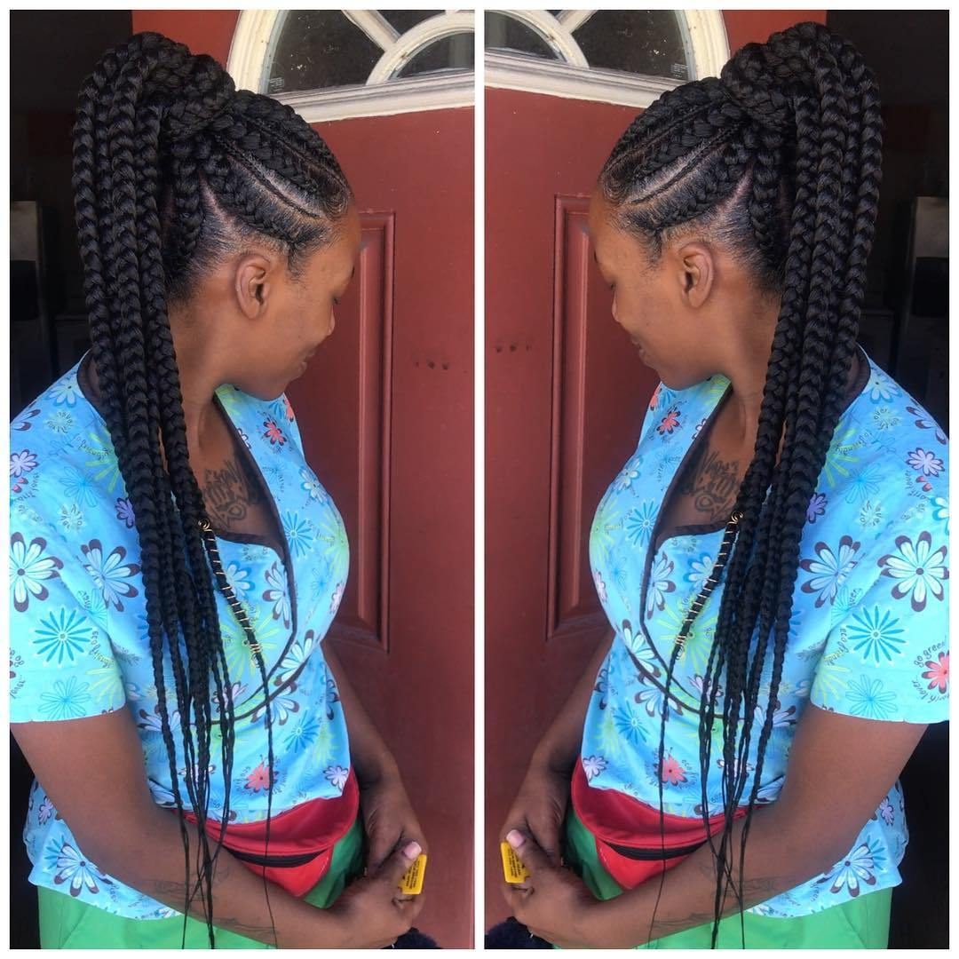 1582814998 411 40 Totally Gorgeous Ghana Braids Hairstyles