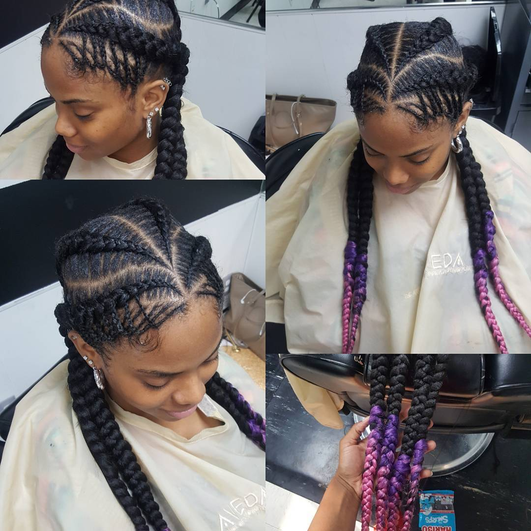 1582814998 459 40 Totally Gorgeous Ghana Braids Hairstyles