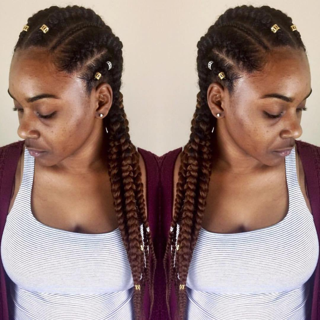 1582814999 150 40 Totally Gorgeous Ghana Braids Hairstyles