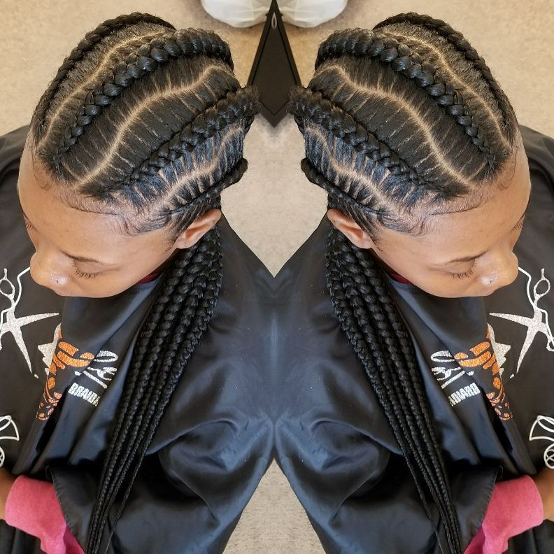 1582814999 558 40 Totally Gorgeous Ghana Braids Hairstyles