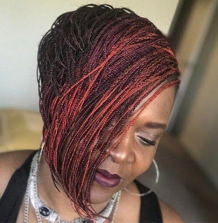 23+ Beautiful Micro Bob Braids for Black Women To Copy In 2020