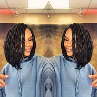 23+ Trendy Mid Length Bob Braids for Black Girls To Copy In 2020