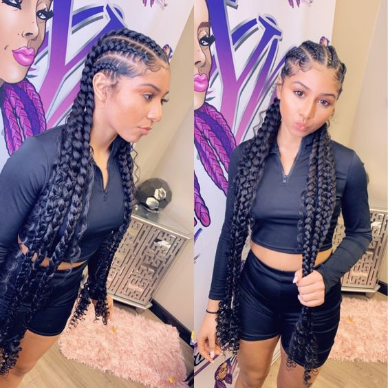 1582815224 462 Female Cornrow Styles55 Beautiful Women Hairstyles For Fine Hair Ideas