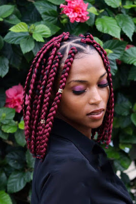23+ Stylish Bob Box Braids on Black Hair Girls To Copy In 2020