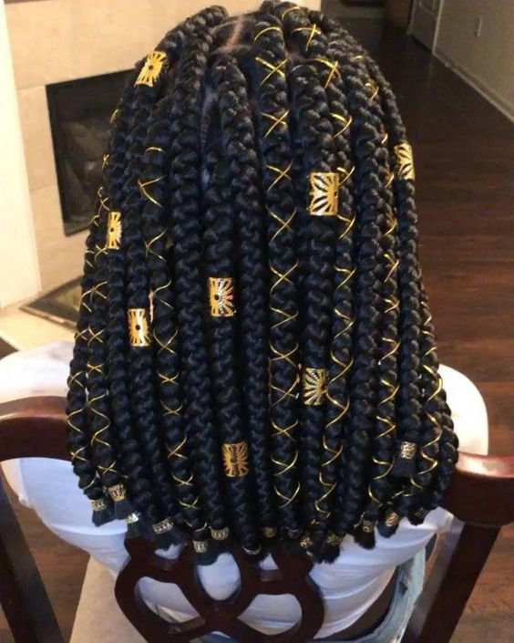 35 Box Braid Jewelry