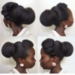 Updos For Natural Black Hair