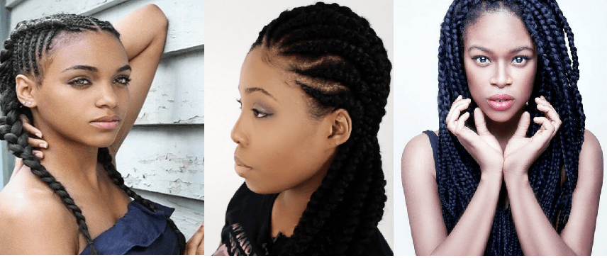 protective braid styles for natural hair