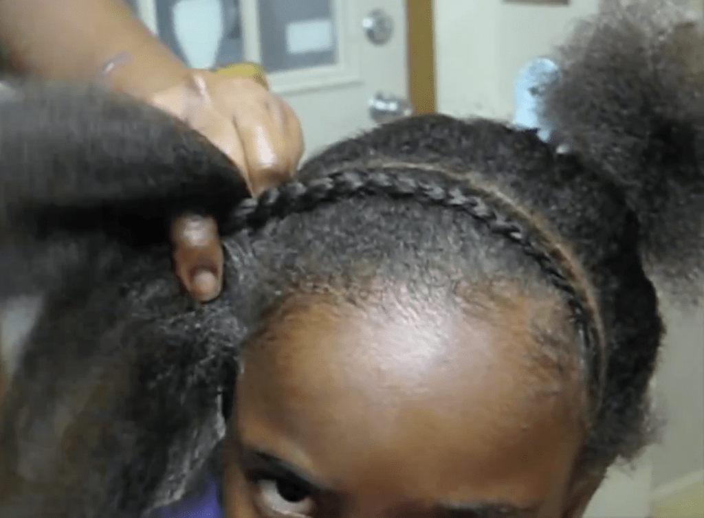 Black Children Hairstyles pure ladies w/ Creme of Nature