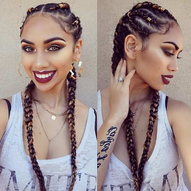 Latest Beautiful Braid Ideas