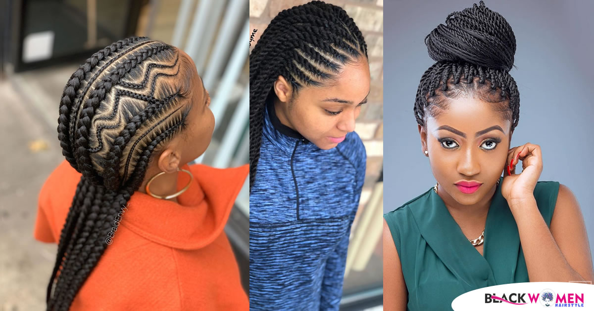 Newest Braids Hairstyles 2020 Cool Hair Concepts For Cute Girls