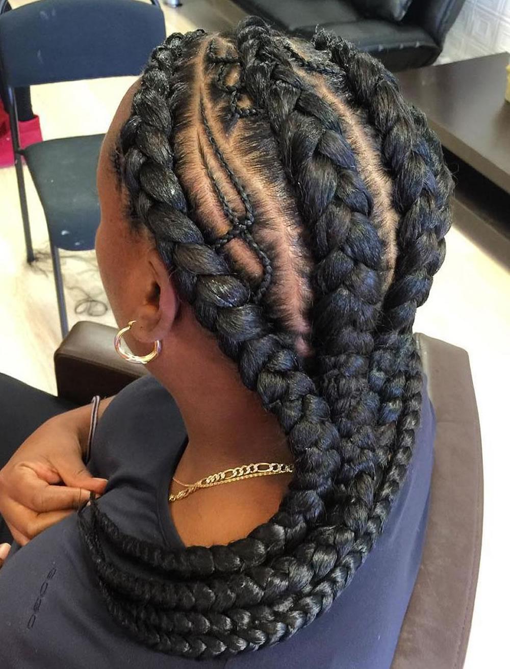 Nigerian braids hairstyles thr