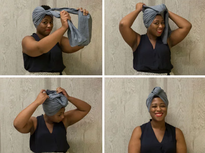 Try The African Head Wraps