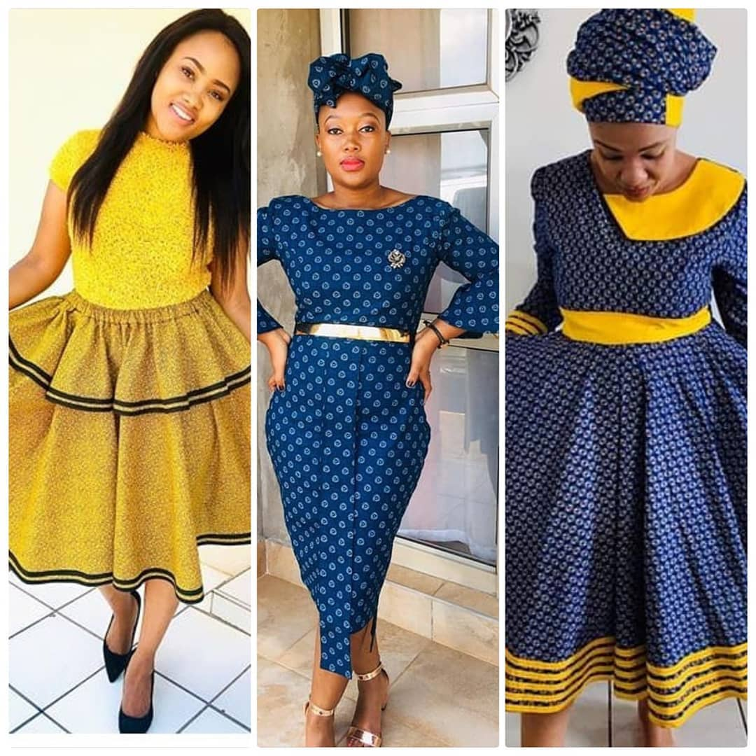 Stylish South African Isishweshwe styles Designs 2020