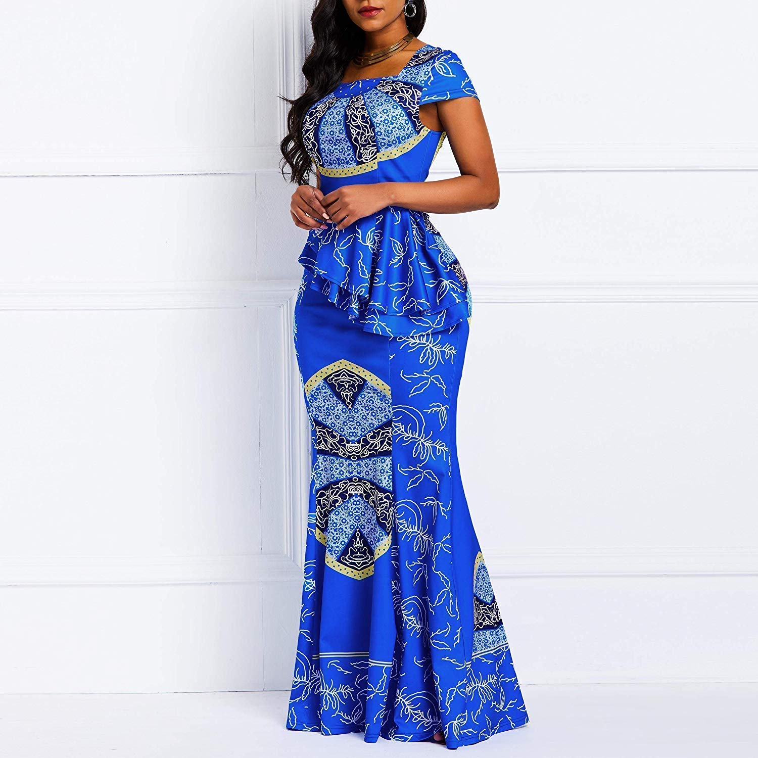 Top 20 Stylish African Print Dresses Latest Styles For The Beautiful Ladies