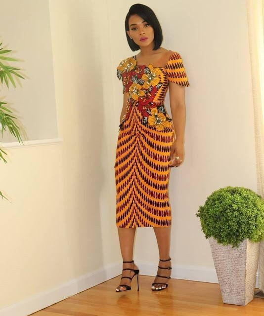 Trendy Fashionable Ankara Styles