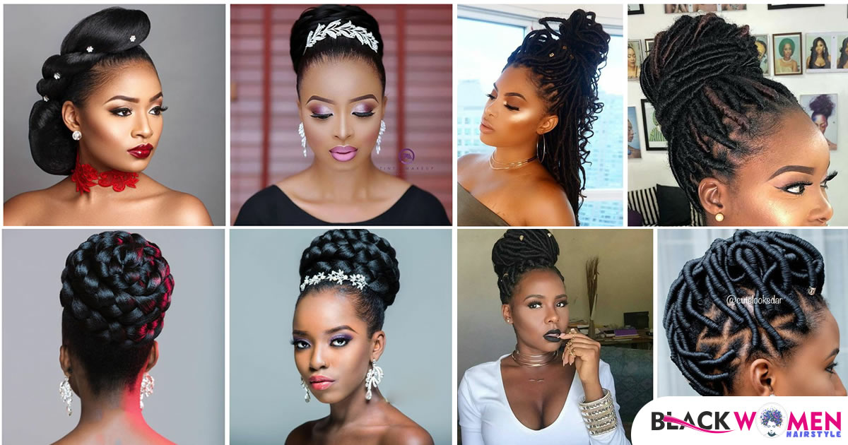 Updo Hairstyles for Black Ladies to Try in 2021