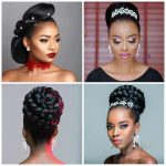 Updo Hairstyles for Black Ladies | The Improvised Designs