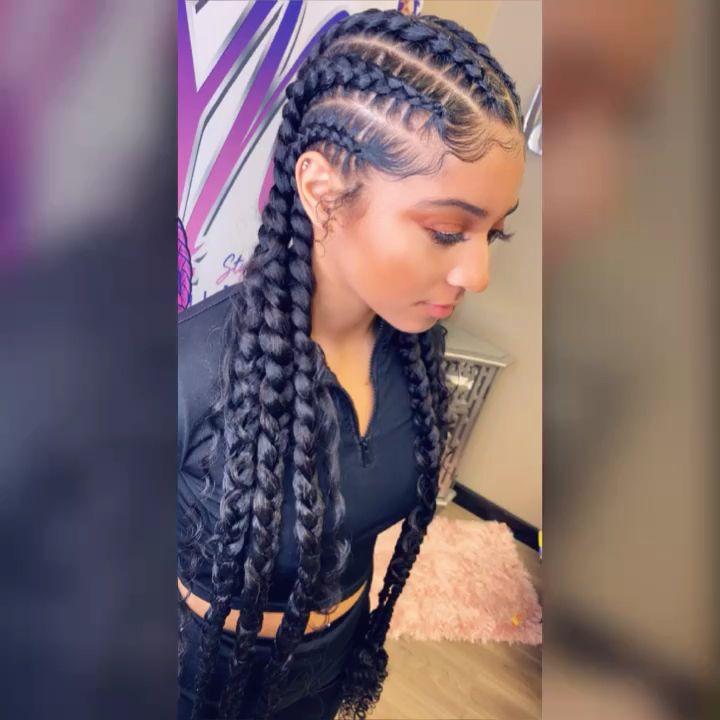 black girl hairstyles braids 2020 hairstyleforblackwomen.net 13