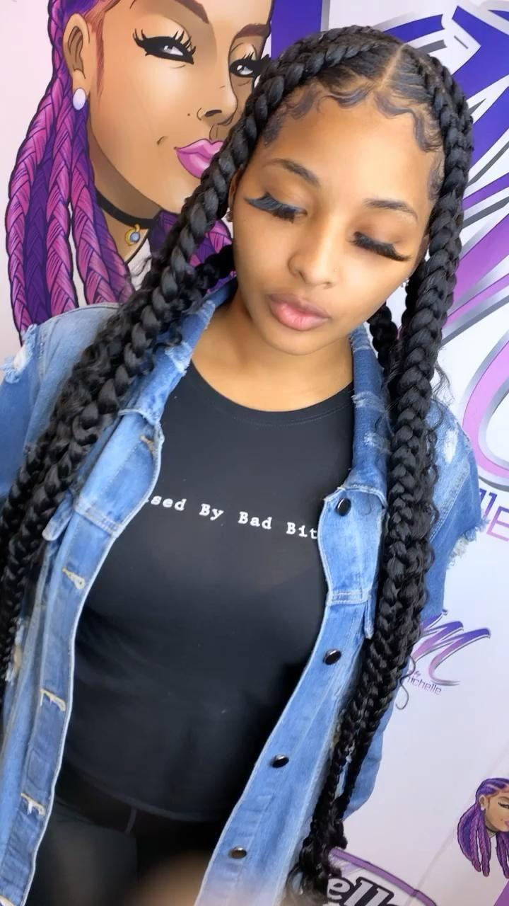 black girl hairstyles braids 2020 hairstyleforblackwomen.net 2