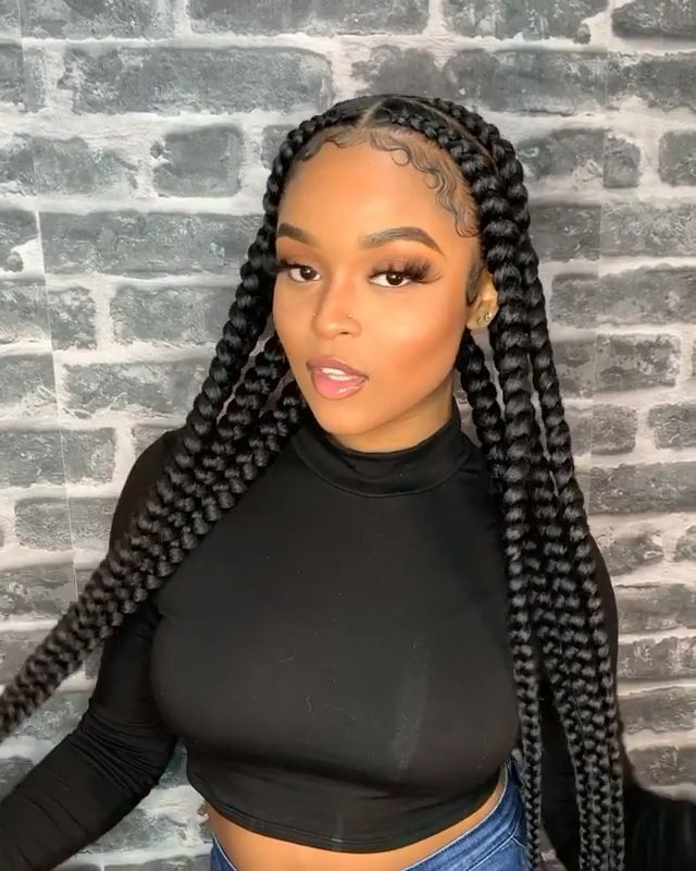 black girl hairstyles braids 2020 hairstyleforblackwomen.net 31
