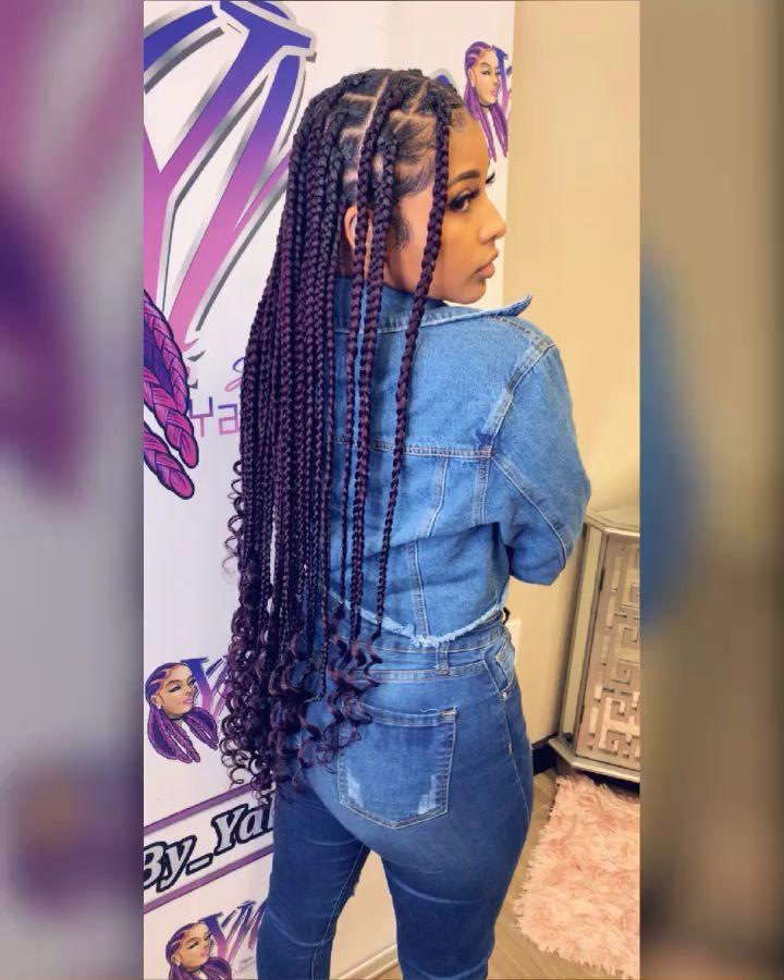 black girl hairstyles braids 2020 hairstyleforblackwomen.net 5