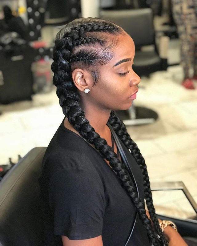 black girl hairstyles braids 2020 hairstyleforblackwomen.net 6