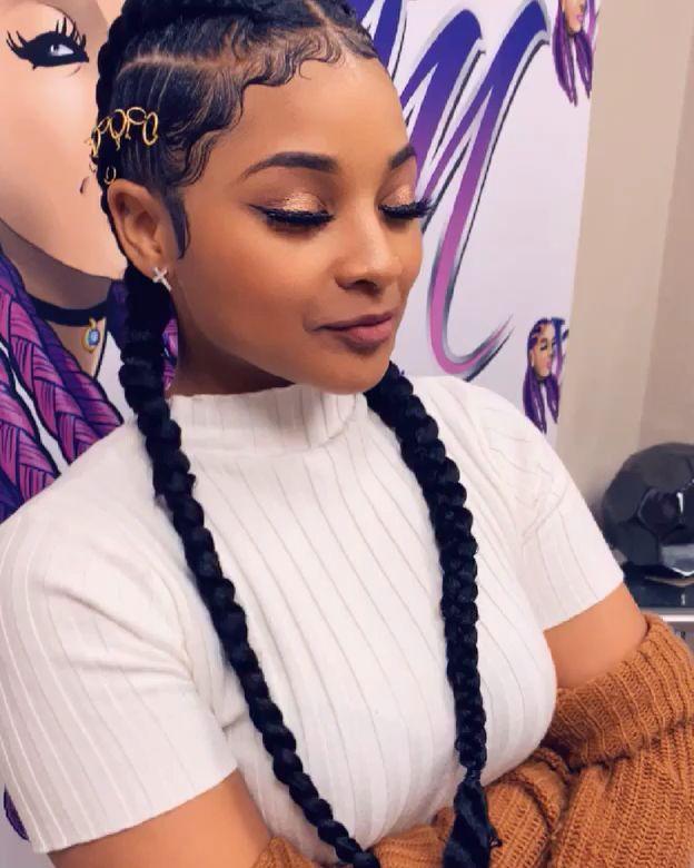 black girl hairstyles braids 2020 hairstyleforblackwomen.net 7
