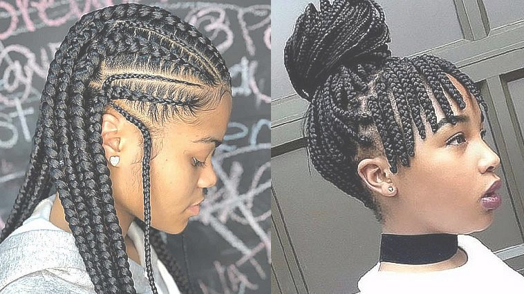 Latest 2020 Ghana Braids Hairstyles For Black Women