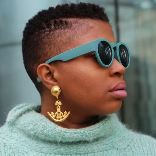 10 very short womens mohawk for natural hair