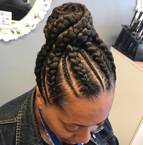 112 Black Braided Hairstyles 1