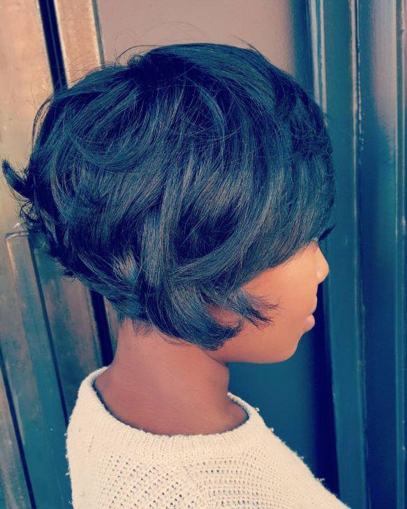 12 african american choppy bob hairstyle