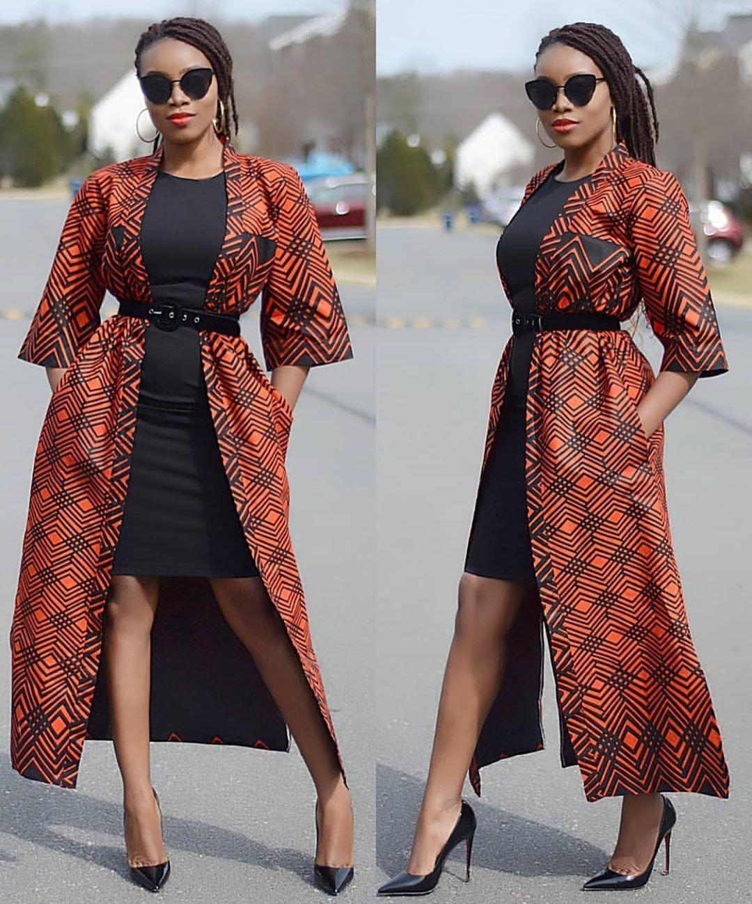 ankara kimono styles 2020 6