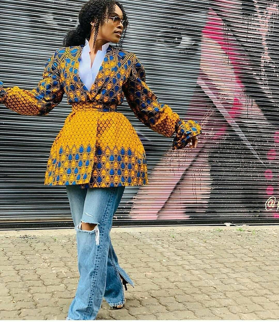 ankara kimono styles 2020 4