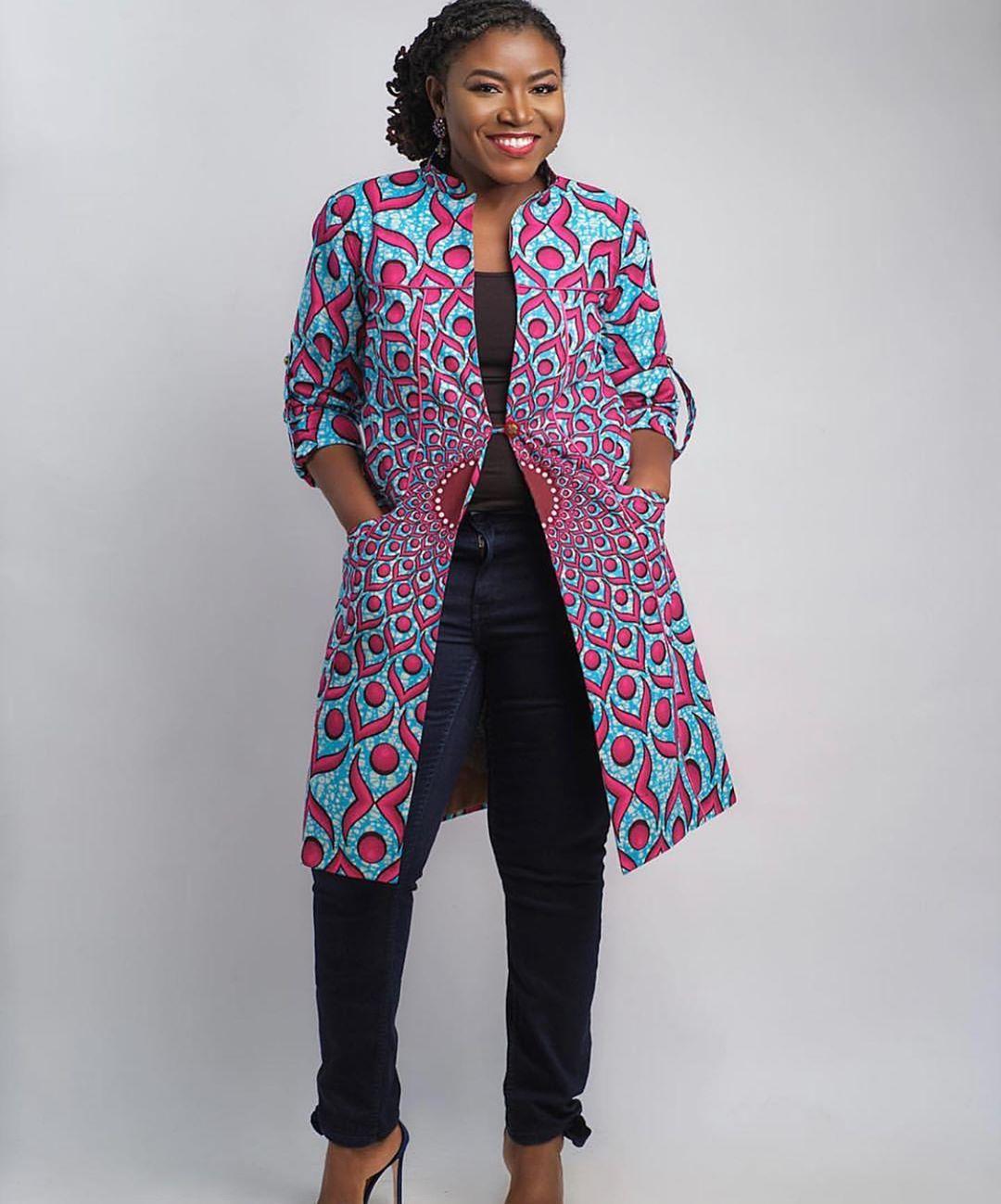 ankara kimono styles 2020 5