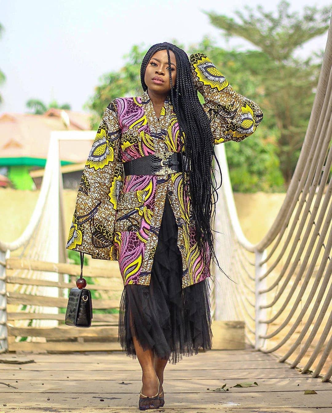ankara kimono styles 2020 18