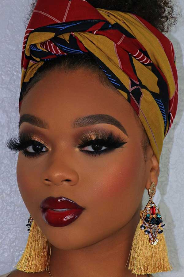 1583436801 858 23 Stunning Makeup Ideas for Black Women