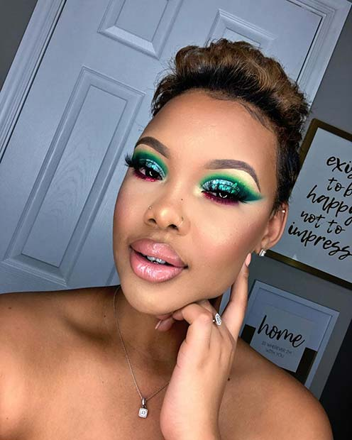 1583436802 927 23 Stunning Makeup Ideas for Black Women